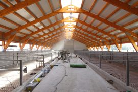 Bau einer Gewerbehalle